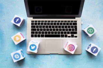 تاثیر شبکه های اجتماعی بر وبسایت