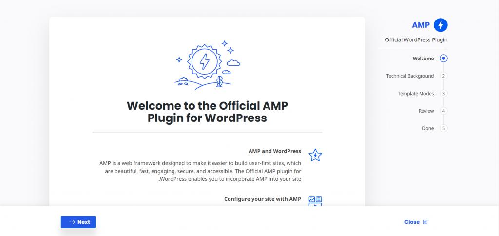آموزش AMP
