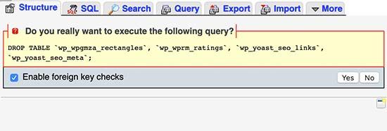 پاک کردن plugin traces از پایگاه داده وردپرس
