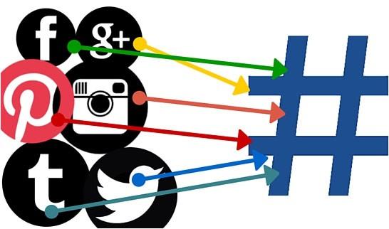 استفاده از هشتگ در شبکه های اجتماعی