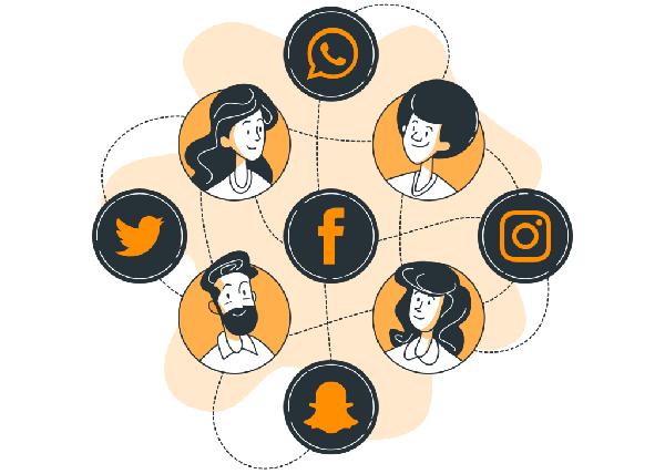 تبلیغات پروفایل شبکه های اجتماعی