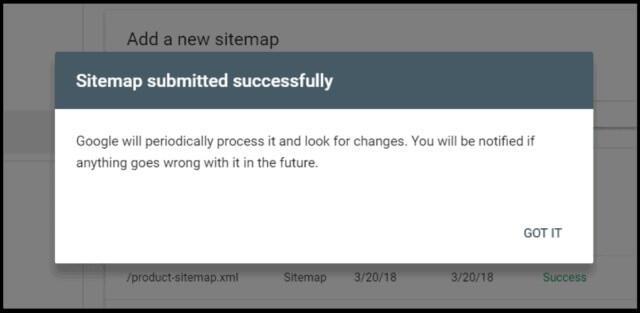 ثبت سایت مپ در سرچ کنسول