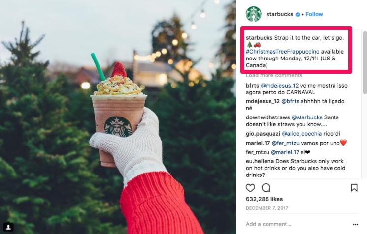 بازاریابی استارباکس در اینستاگرام